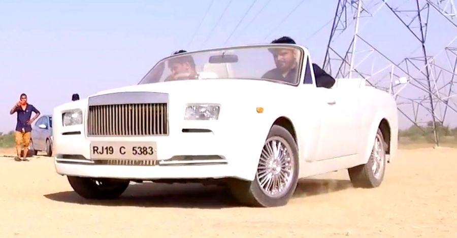 This Rolls Royce is actually a backyard build based on a Premier 118 NE  [video]