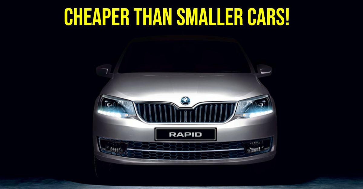 Skoda Rapid turbo petrol is CHEAPER than Volkswagen Polo TSI & Hyundai Aura Turbo!