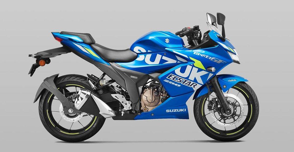Suzuki launches BS6 versions of Gixxer 250 & Gixxer SF 250