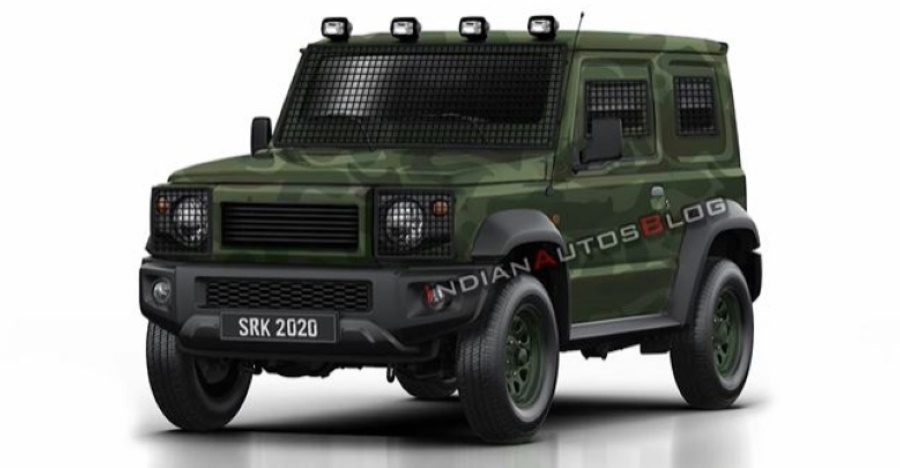 Suzuki Jimny modified to serve the army is the perfect Maruti Gypsy replacement [Video]