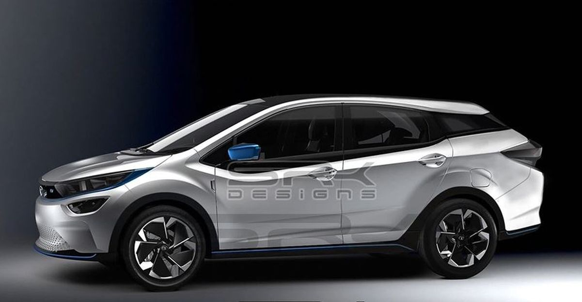 Tata Altroz EV rendered with a station-wagon look [Video]