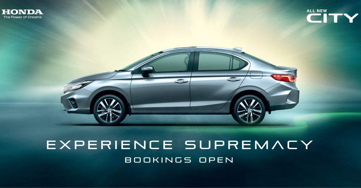 5th generation 2020 Honda City sedan: Bookings officially open ahead of next month's launch