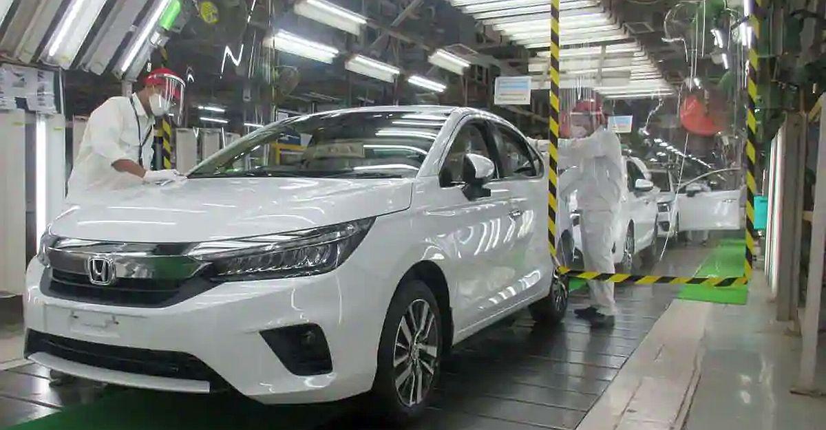 All-new 2020 Honda City sedan's production commences in India