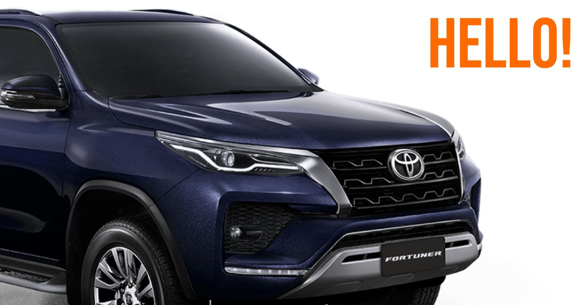 2020 Toyota Fortuner Facelift officially REVEALED: Launch in India soon