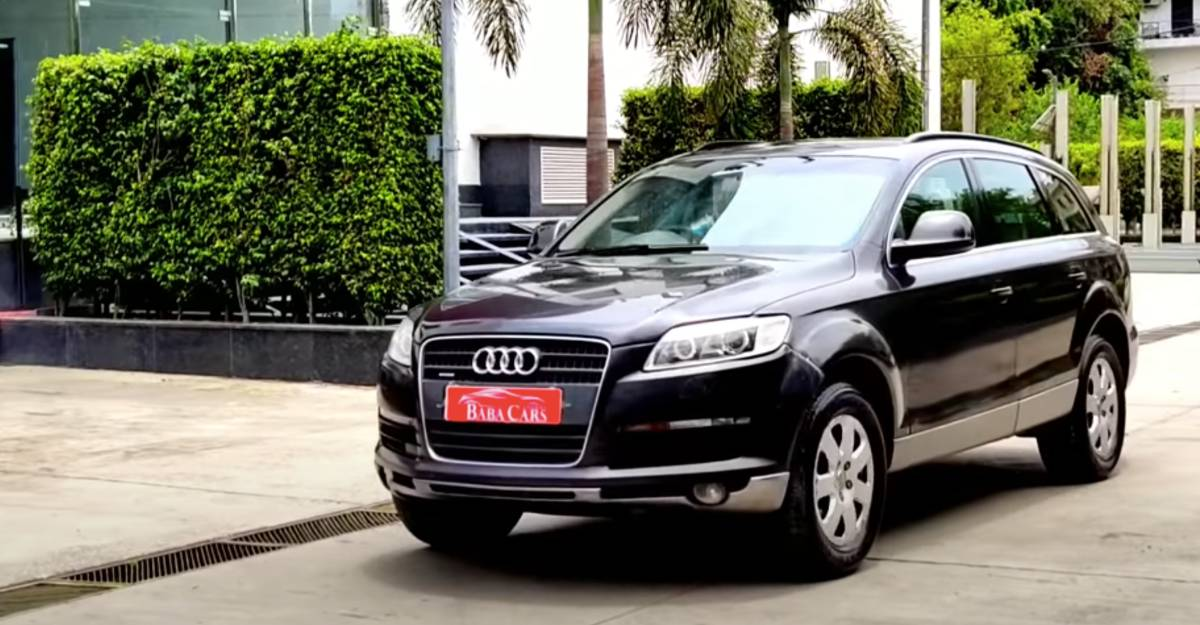 Used Audi Q7 luxury SUV with 500 Nm of torque selling cheaper than a new Maruti Swift