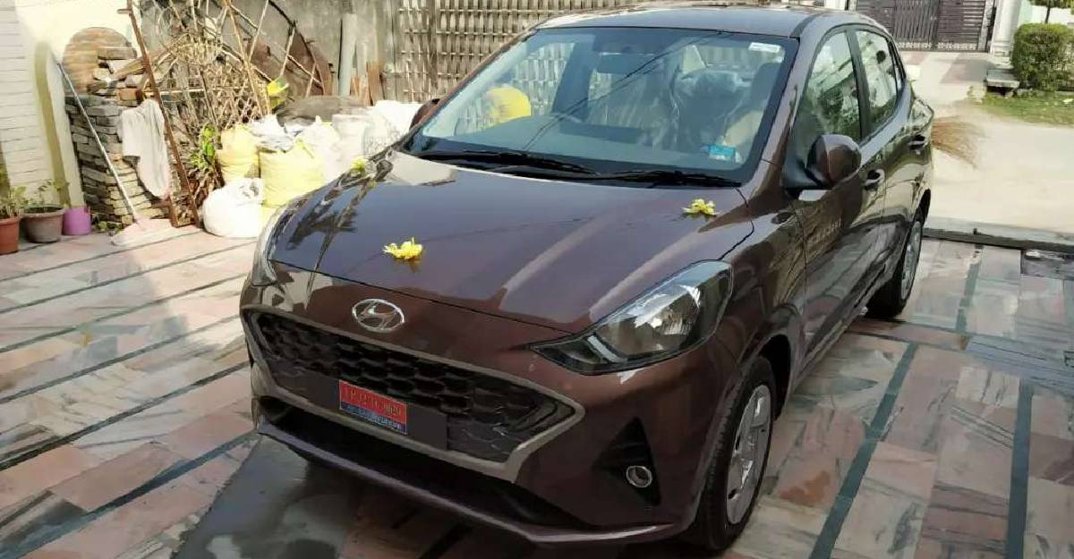 India S First Used Hyundai Aura Automatic For Sale