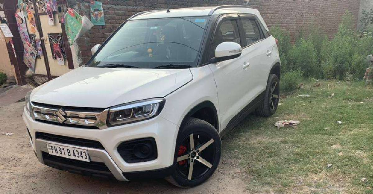 Almost-new used 2020 Maruti Suzuki Vitara Brezza petrol for sale