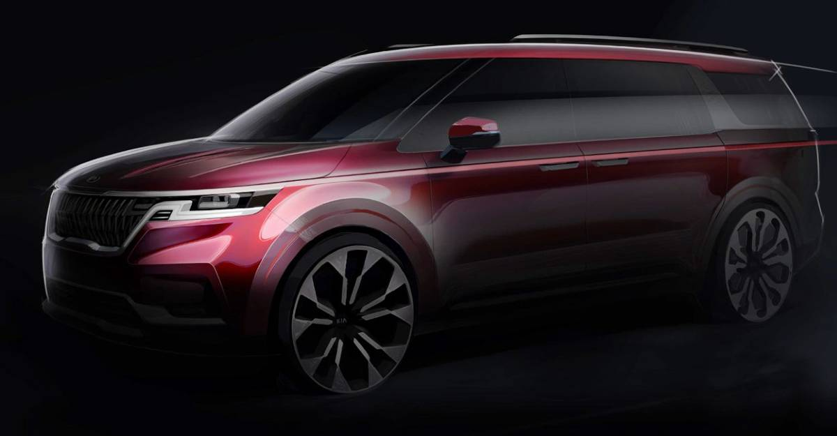 All-new Kia Carnival officially teased before global unveiling