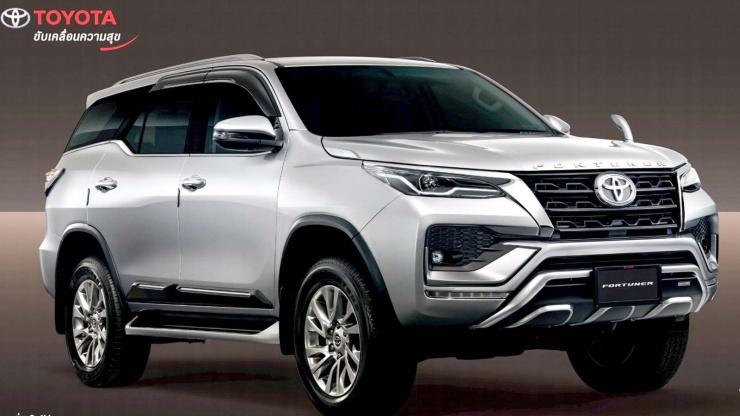 2020 Toyota Fortuner Facelift: Official accessories revealed