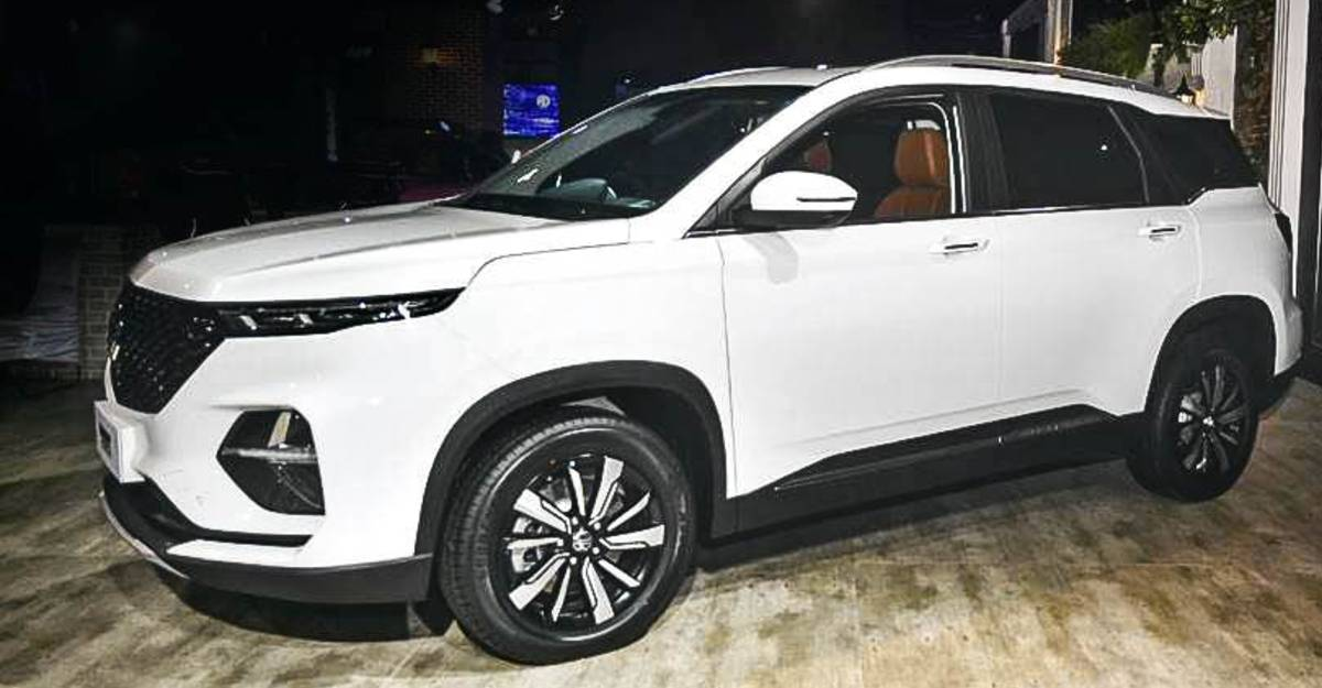 MG Hector Plus launch time revealed; Unofficial bookings open