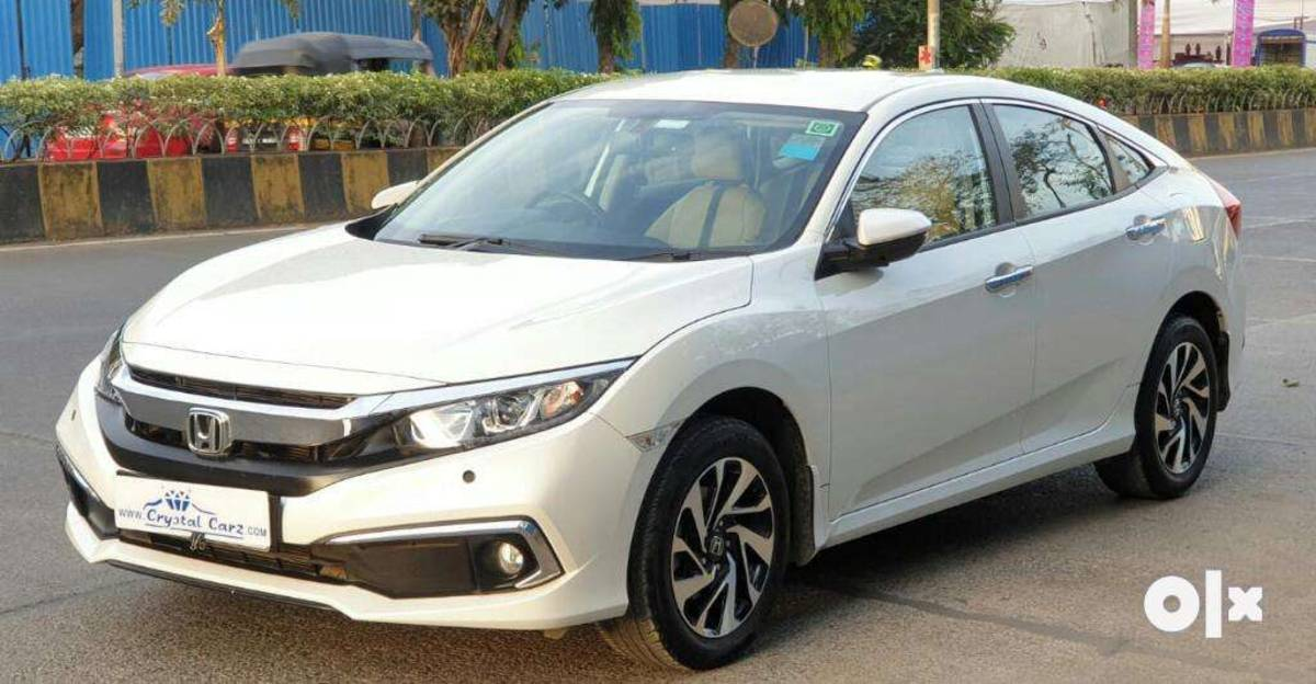 Almost-new used Honda Civic automatic sedans for sale: CHEAPER than new