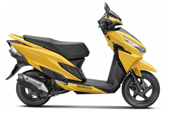 2019 Honda Grazia DX Launched in India @ INR 64,668