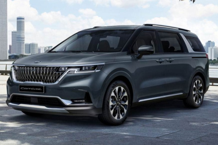 All-new Kia Carnival: First pictures of the upcoming luxury MPV revealed