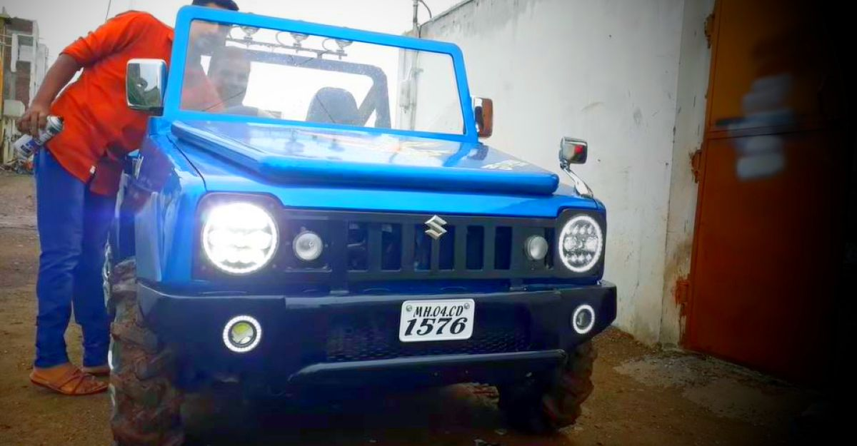 India's FIRST 'Maruti 800 to Jimny' modification is here [Video]