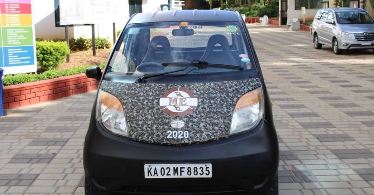 This Tata Nano Electric Car costs less than a Royal Enfield Classic 350
