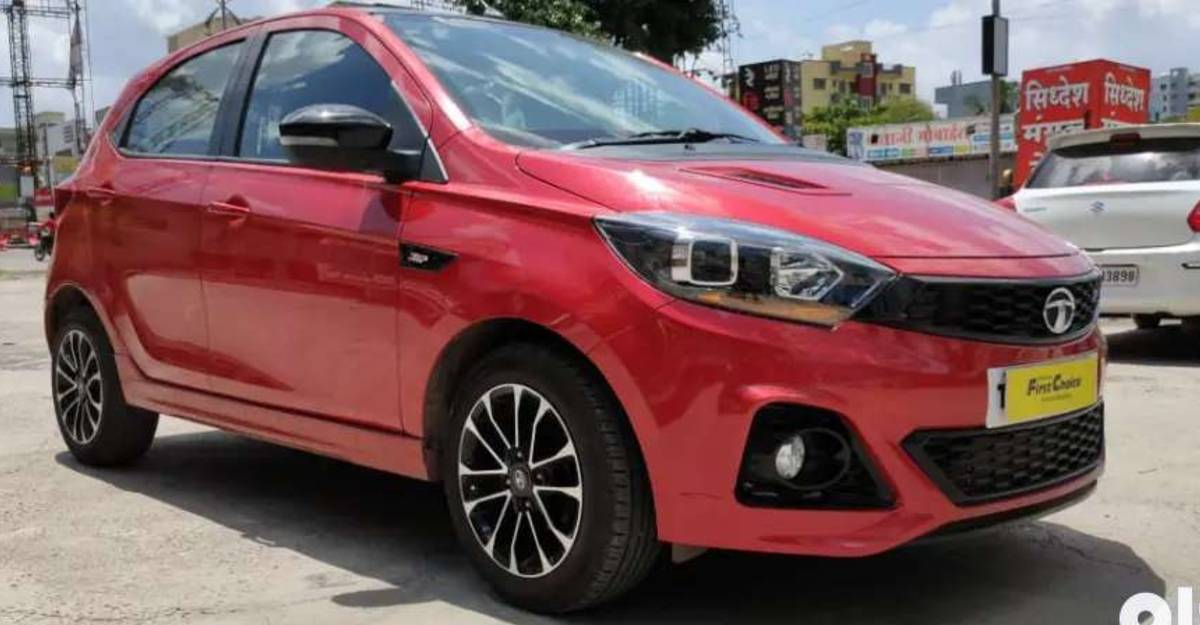 Tata Tiago JTP media car for sale: CHEAPER than new