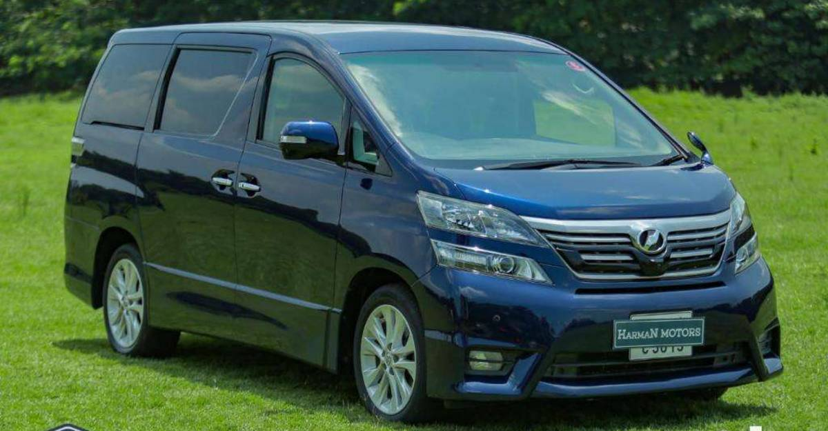 Used Toyota Vellfire for sale: CHEAPER than a Fortuner
