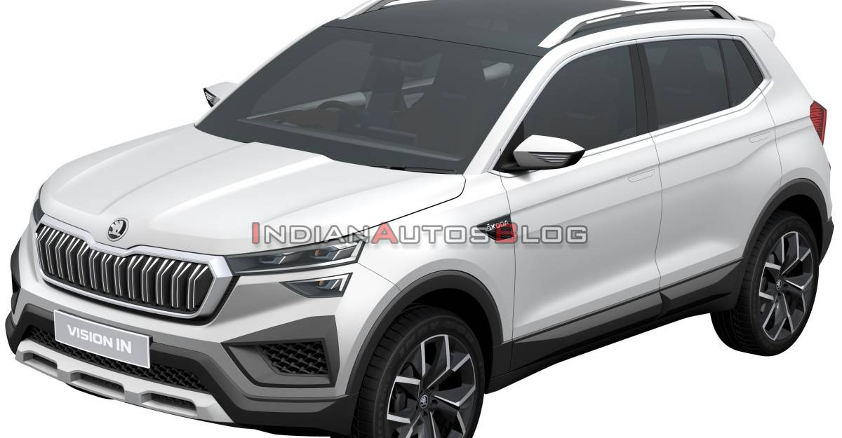 Skoda's Hyundai Creta rivaling compact SUV will look like this: Leaked pictures & engine details