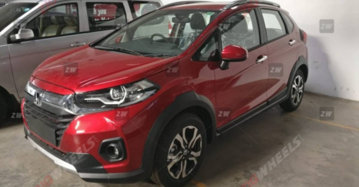 2020 Honda WR-V facelift spotted in showrooms before official launch