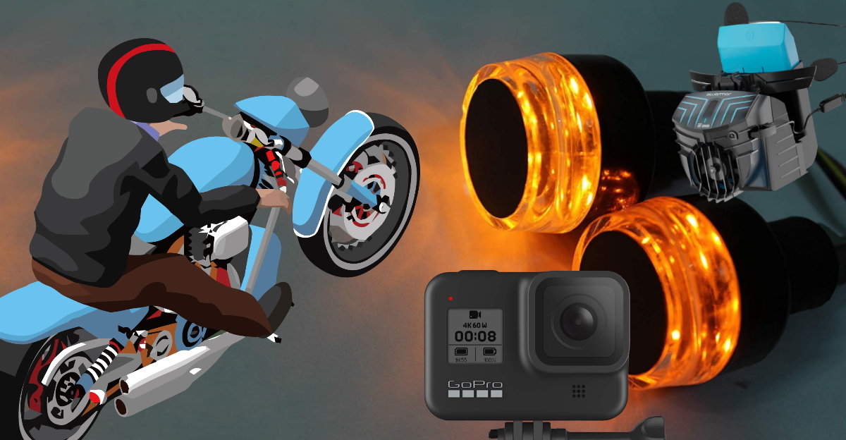 Affordable yet super cool and useful accessories that motorcyclists can buy in India