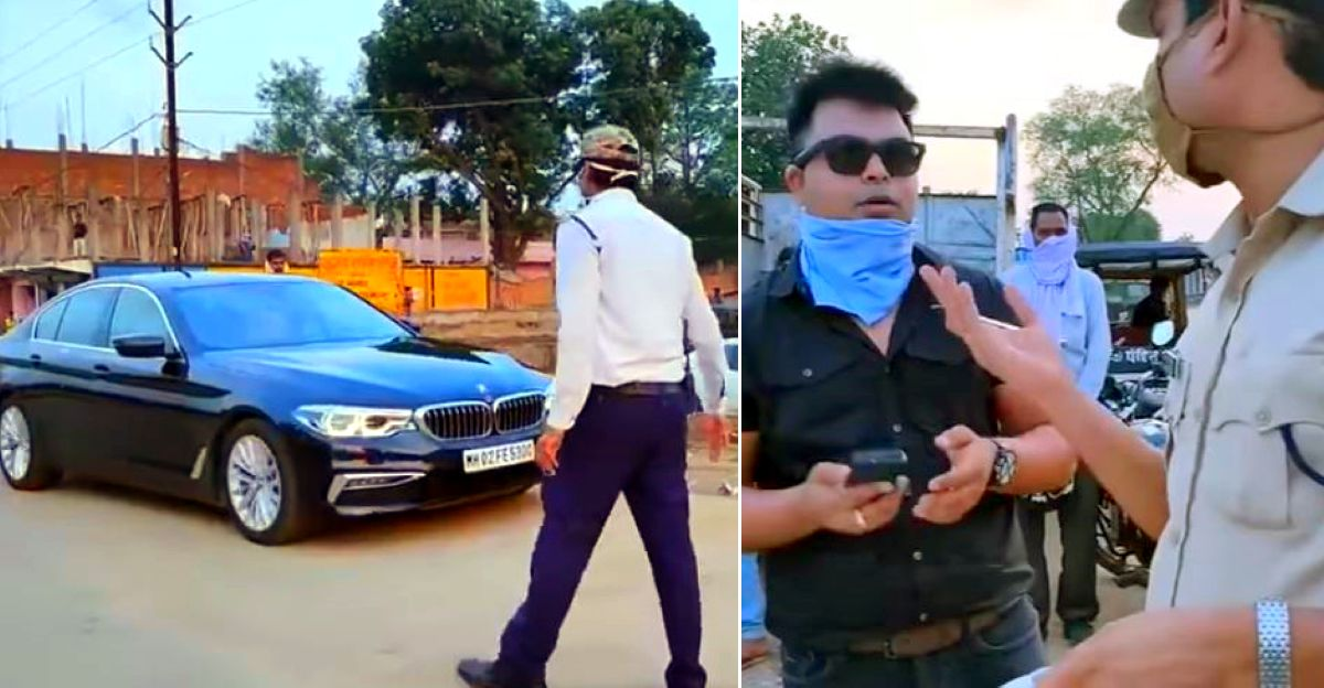 BMW 5 Series owner gets fined Rs. 5000: Requests cops to reduce it to Rs 100 [Video]