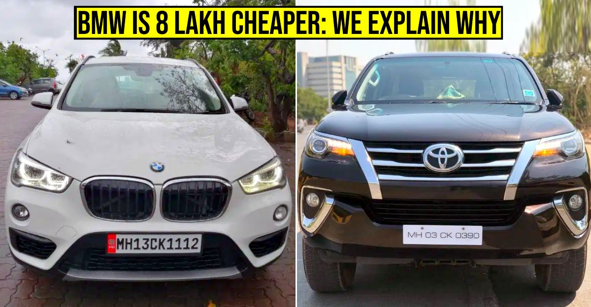 Why does used Toyota Fortuner cost more than used BMW X1 or X3? We explain