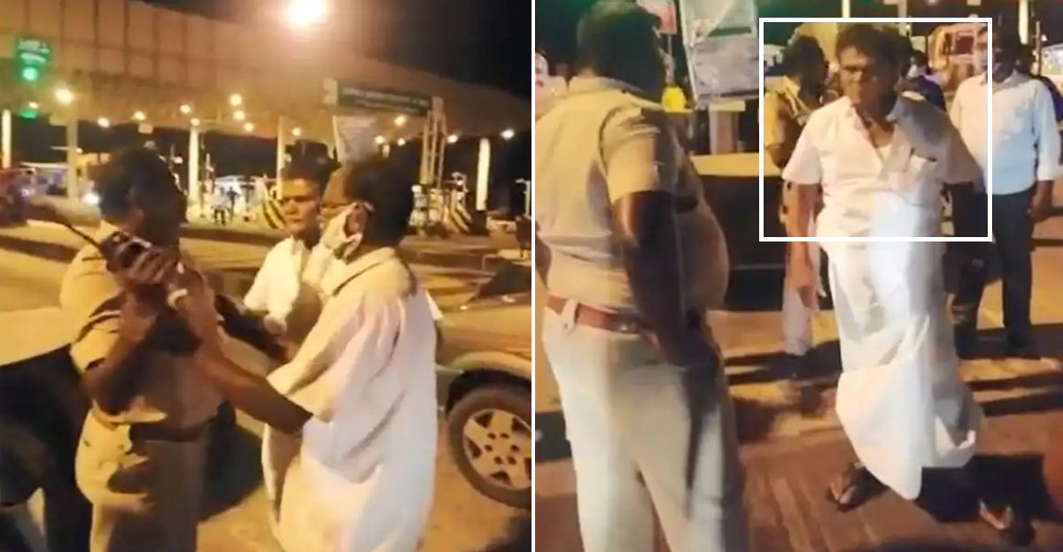 Politician abuses, kicks cop when asked for e-pass for traveling during COVID-19 [Video]