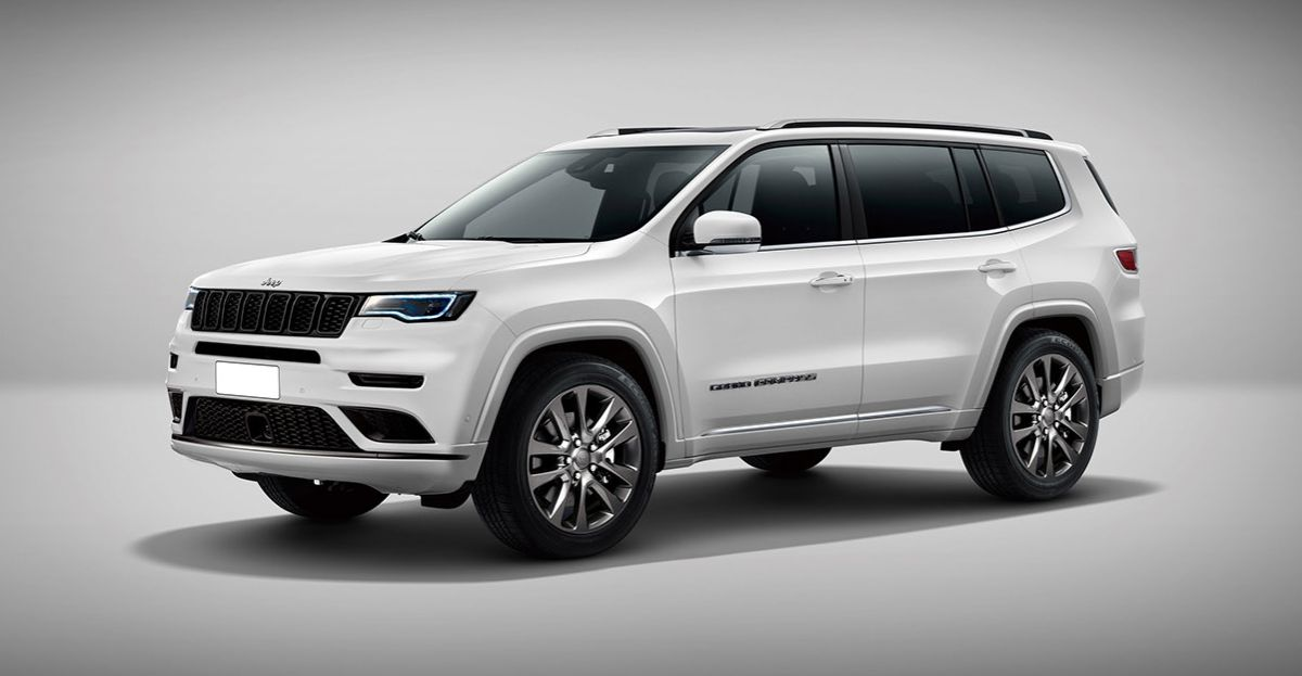 7 Seat Jeep Grand Compass: What it could look like