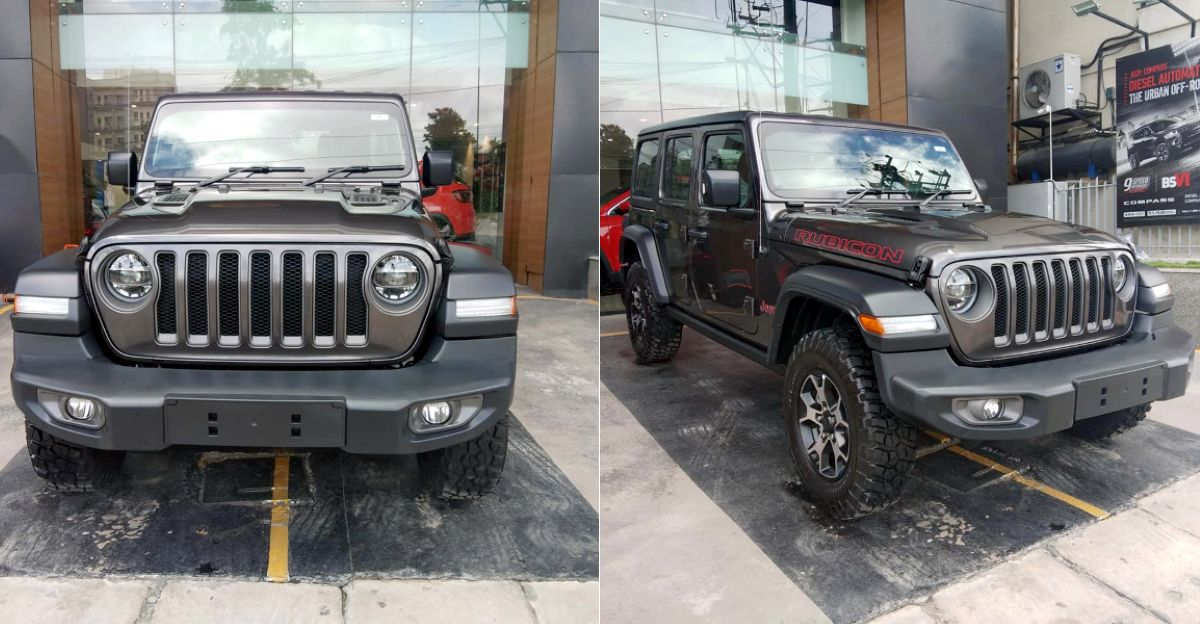 Jeep delivers India's first Wrangler Rubicon off-road SUV