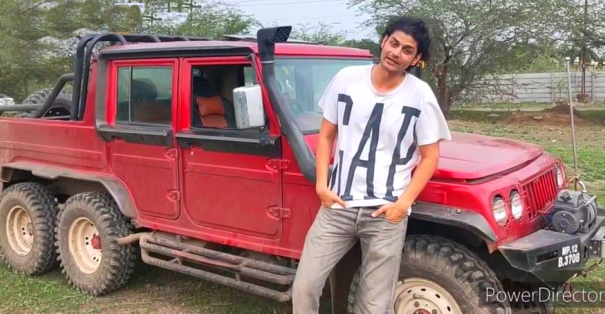 Mahindra Bolero 6X6 owner gives an in-depth tour of the CRAZY modification [Video]