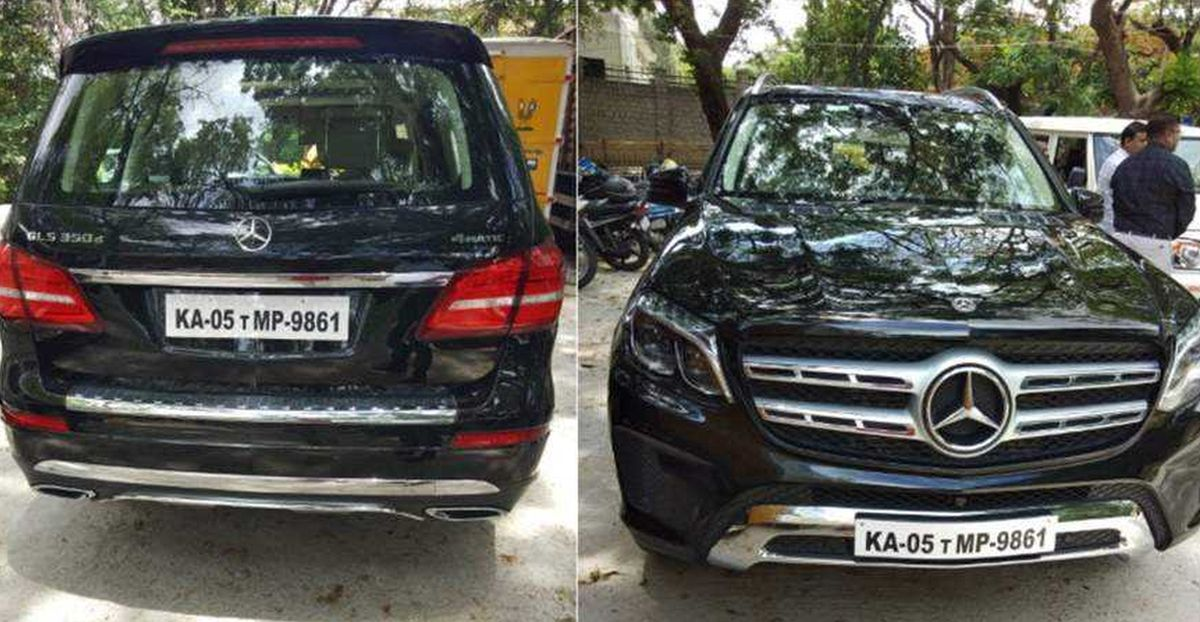 Owner drives around BS4 Mercedes-Benz GLS luxury SUV without registration: SEIZED by RTO