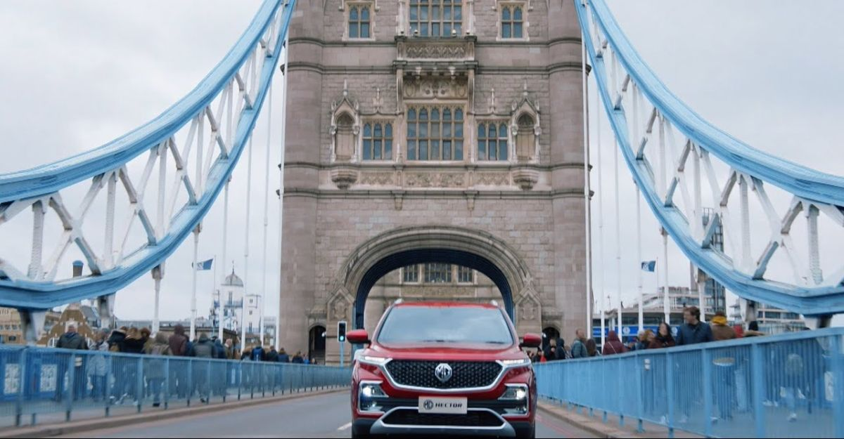 Watch the MG Hector's voice command system at work [Video]