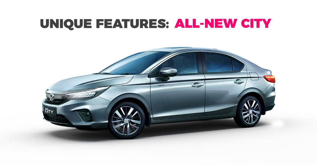 2020 Honda City: 5 segment leading features of the new sedan