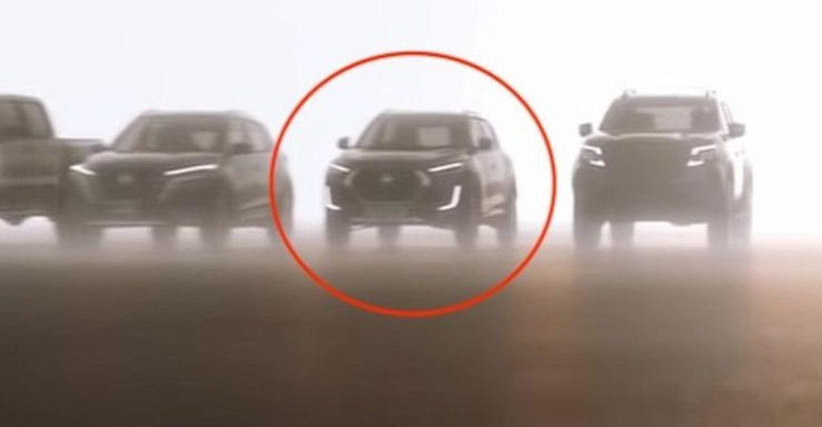 Nissan Magnite compact SUV teased in a video: To rival Maruti Brezza & Hyundai Venue