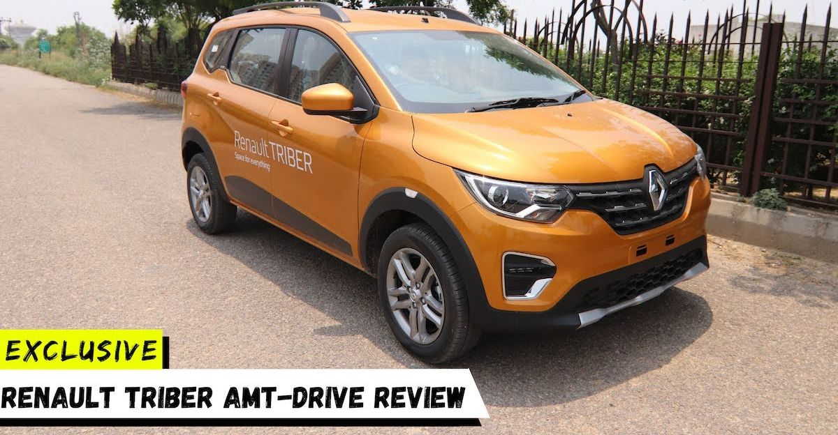 Renault Triber AMT drive review on video: Check it out