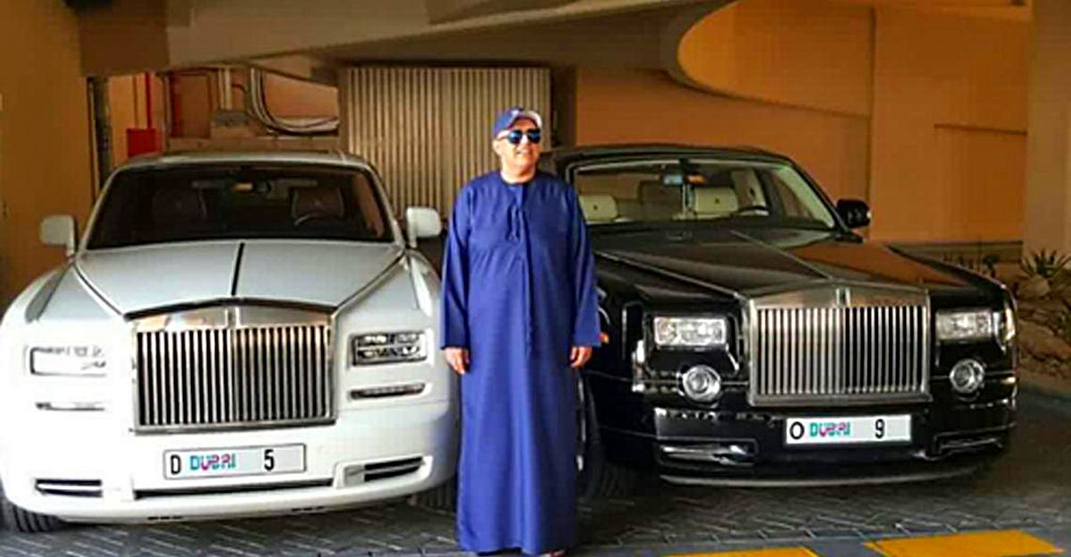 Meet the Indian businessman who spent Rs. 60 crore on his Rolls Royce numberplate!