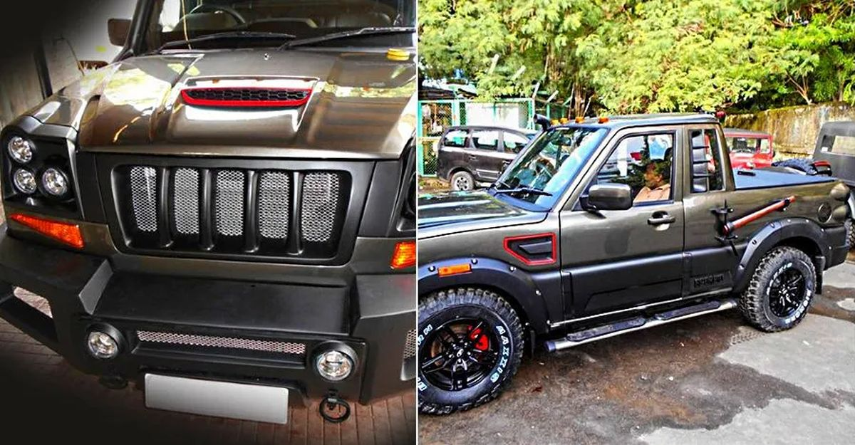 Mahindra Scorpio Mountaineer is a factory-built custom option you can actually buy