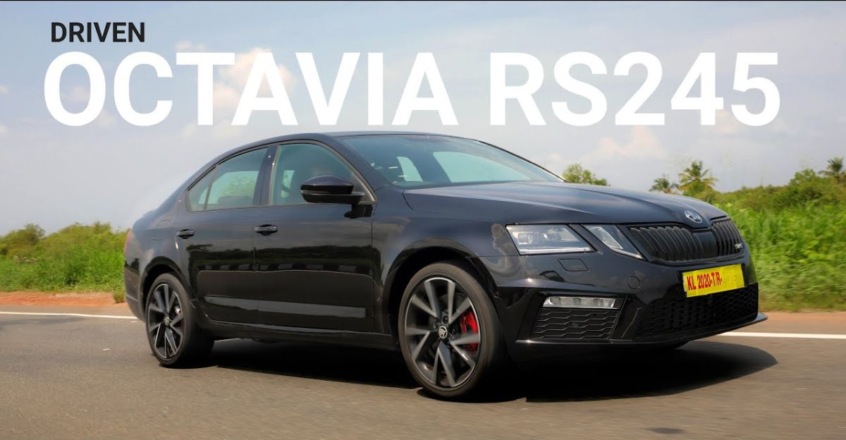Skoda Octavia RS 245: First Indian video review of the high performance sedan