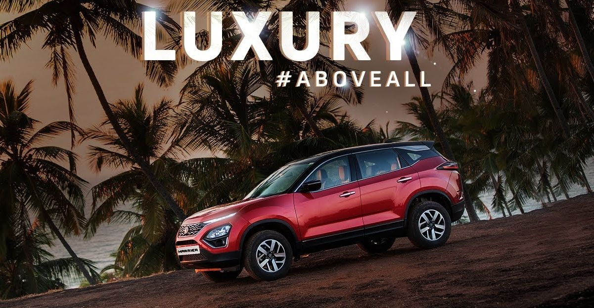 2020 Tata Harrier's luxury features highlighted in a new TVC