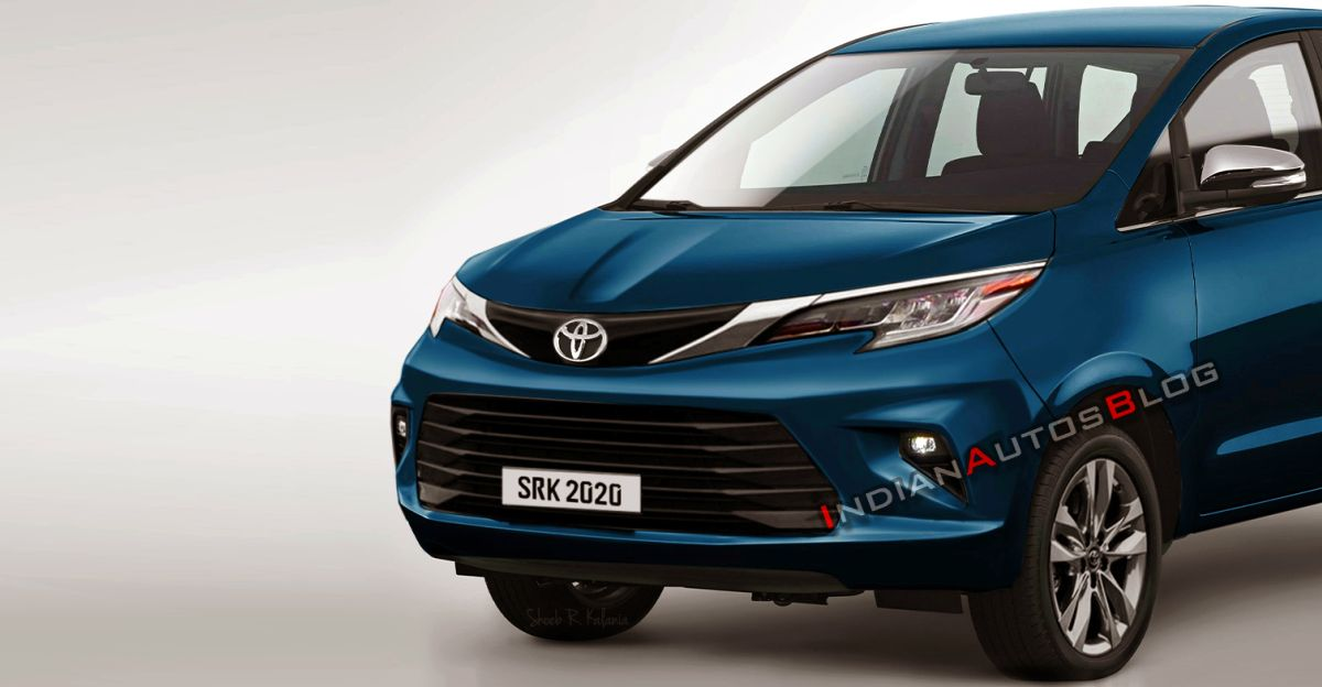 2021 Toyota Innova Crysta Facelift: What it could look like