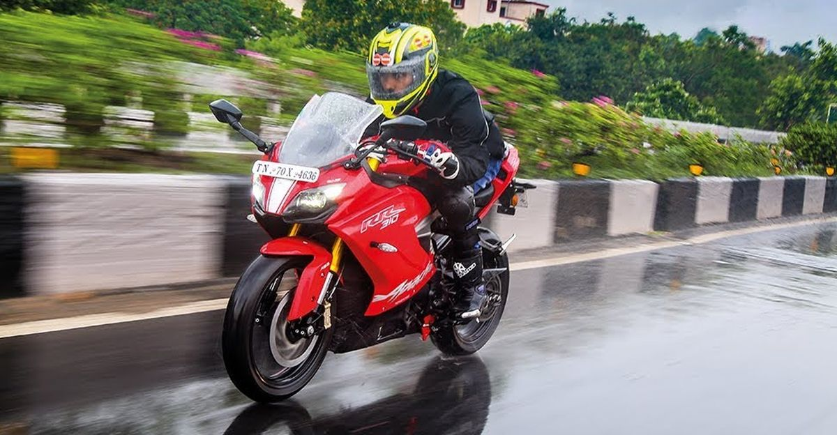 This video explains how 'Glide Through Technology' works in TVS Apache motorcycles