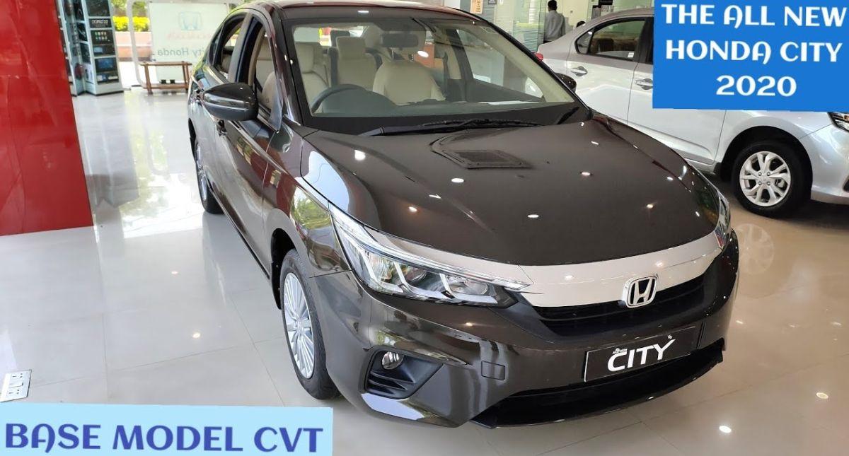 2020 Honda City base automatic trim on video