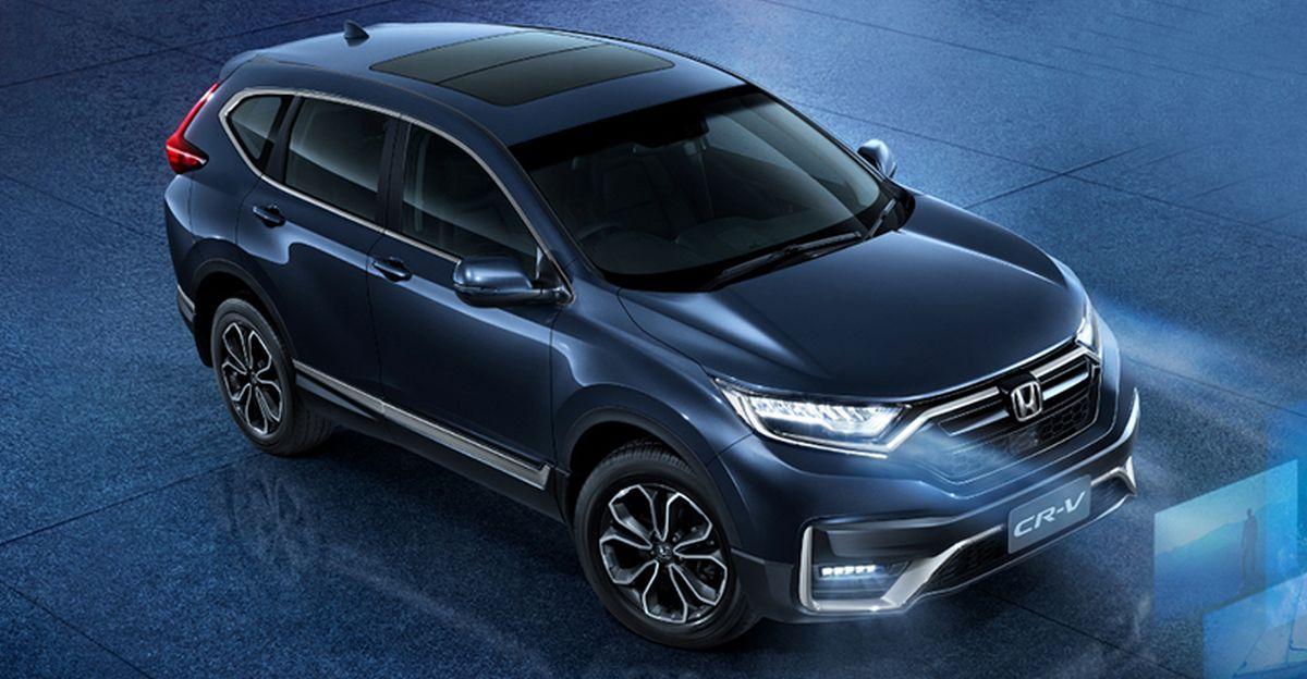 2020 Honda CR-V SUV Facelift: This is IT!