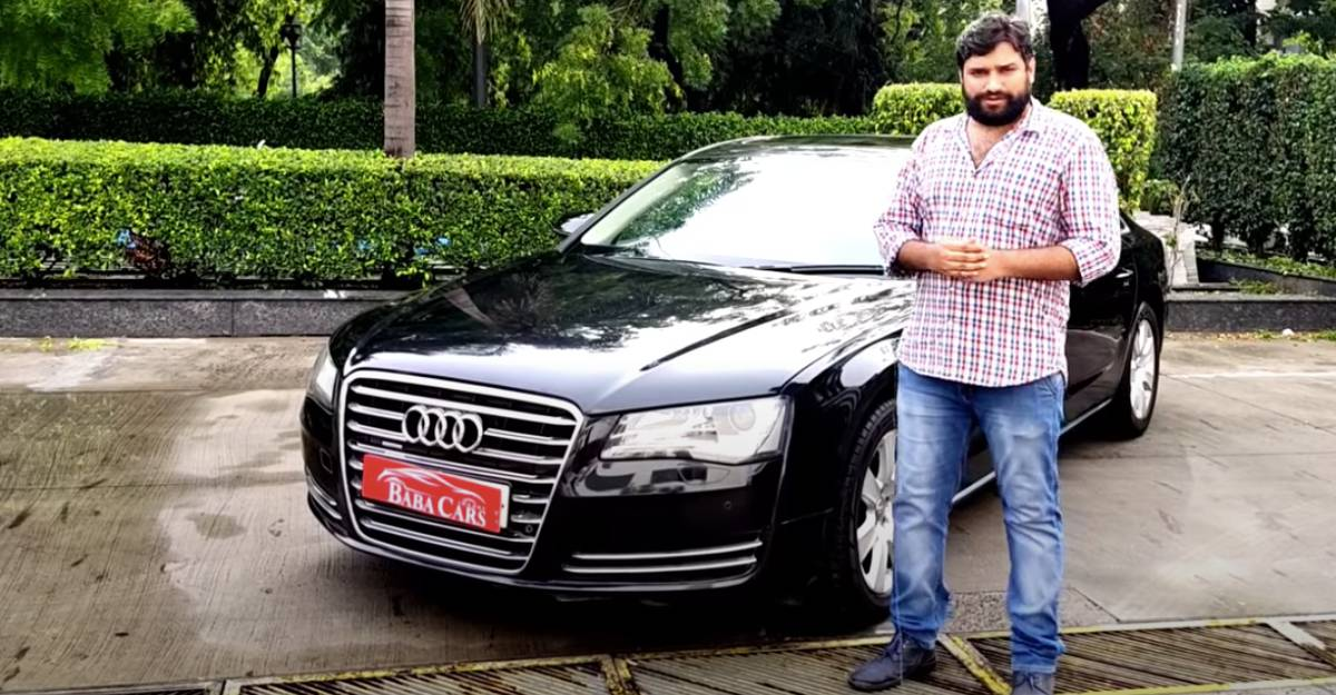 Used Audi A8 L for sale: CHEAPER than a new Honda City