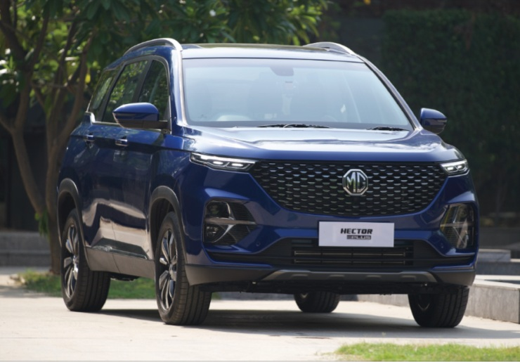 MG Motor India opens bookings for Hector Plus 6-seater SUV