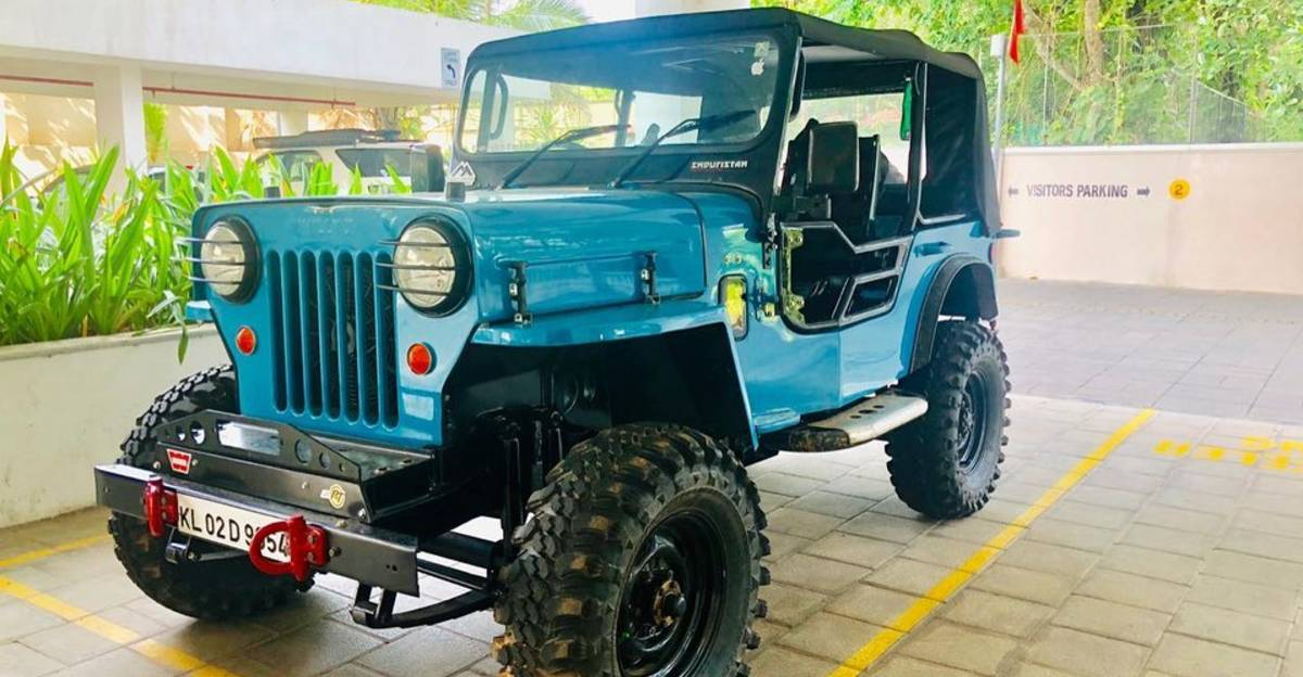 BEAUTIFULLY modified, off-road spec Mahindra CJ3B Jeep for sale: CHEAPER than Maruti Brezza