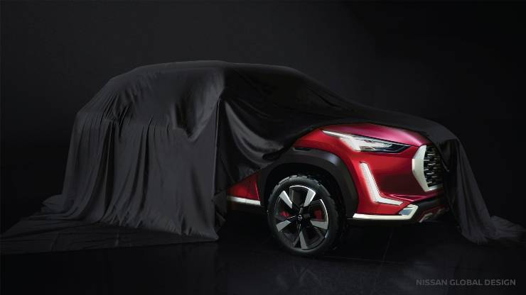 Nissan Magnite teased again: To be launched in early 2021