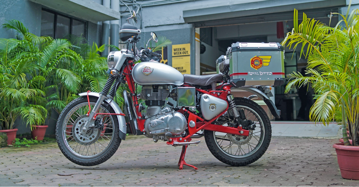 Get your Royal Enfield serviced at home now