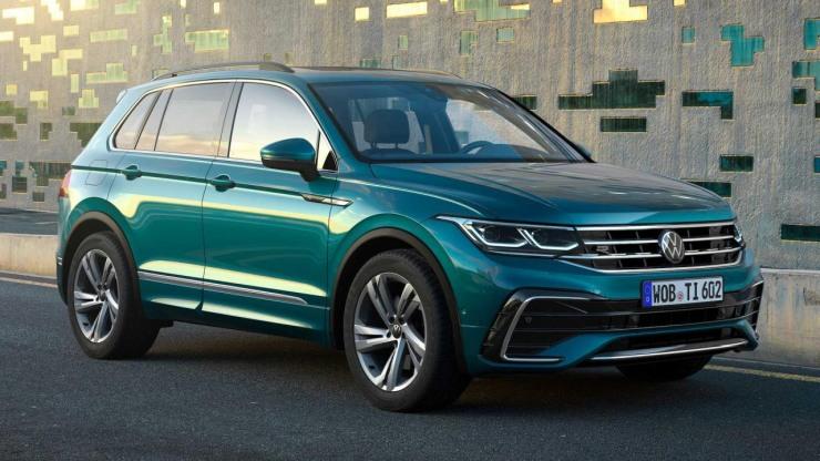 Volkswagen Tiguan 5-seater facelift unveiled