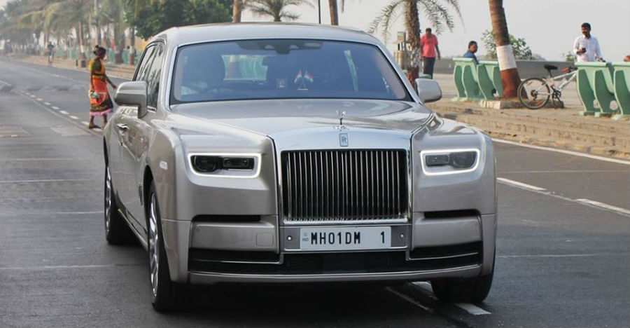 Watch all 3 Rolls Royce cars owned by the Ambanis on video